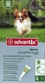 ADVANTIX SPOT ON 4 PIPE 0,4ML PER CANI FINO A 4 KG